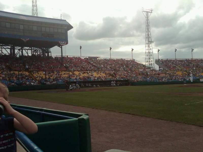Vista sentada para Rosenblatt Stadium Secção 15 Fila A Lugar 1