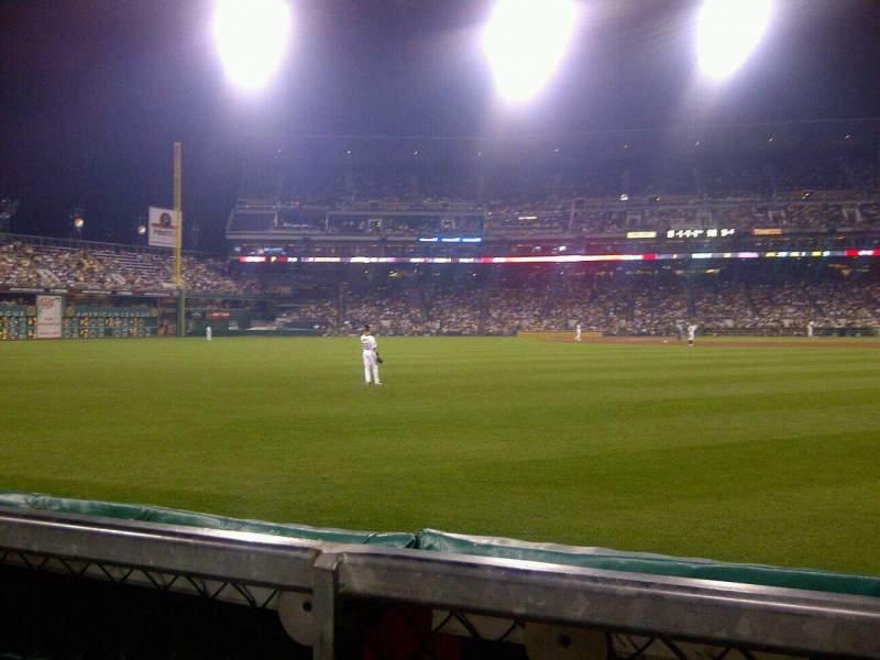 Vista sentada para PNC Park Secção Left Field