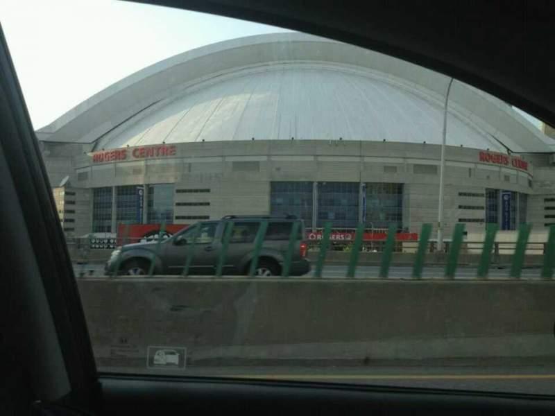 Vista sentada para Rogers Centre Secção Road
