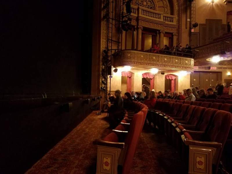 Vista sentada para Ethel Barrymore Theatre Secção Orchestra L Fila BB Lugar 5