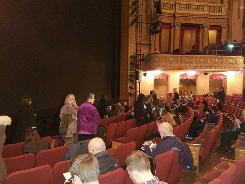 Vista sentada para Ethel Barrymore Theatre Secção Orchestra L Fila F Lugar 17