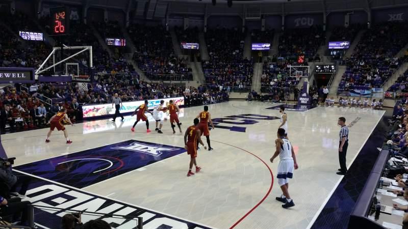 Vista sentada para Schollmaier Arena Secção 105 Fila D Lugar 11