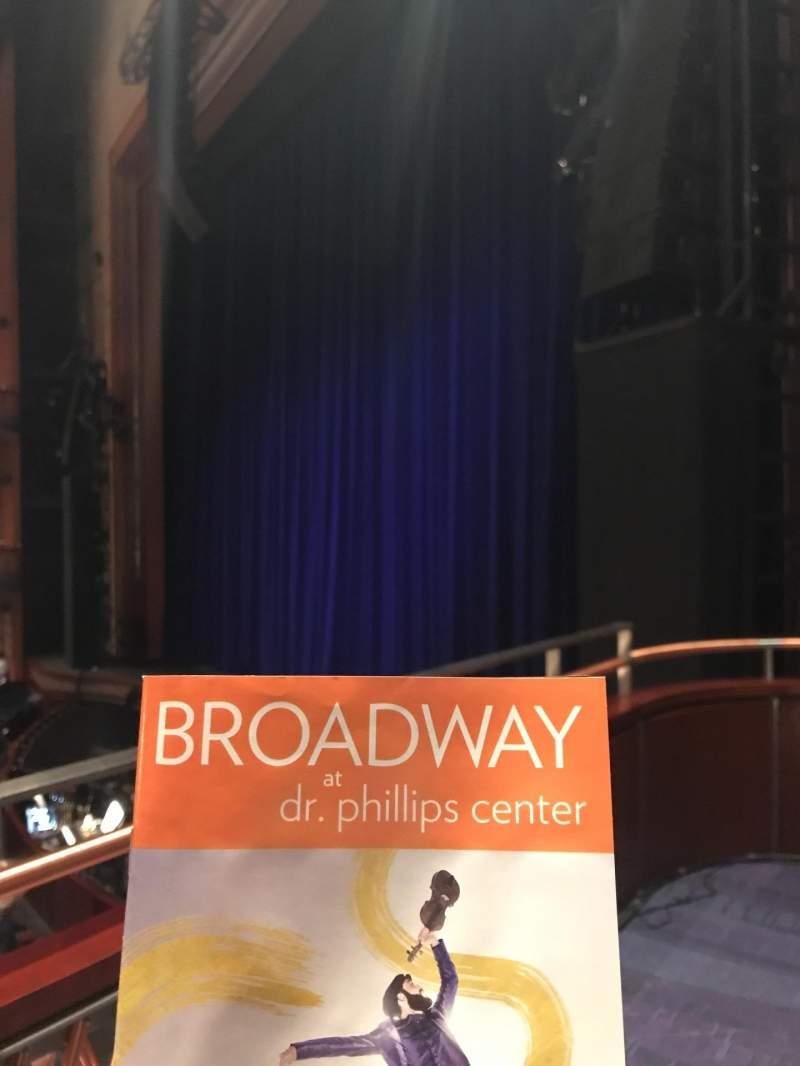 Vista sentada para Walt Disney Theatre - Dr. Phillips Center Secção Box Fila Box 2 Lugar 2