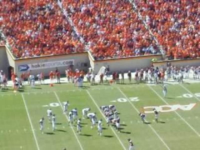 Vista sentada para Lane Stadium Secção 37 Fila 44 Lugar 26