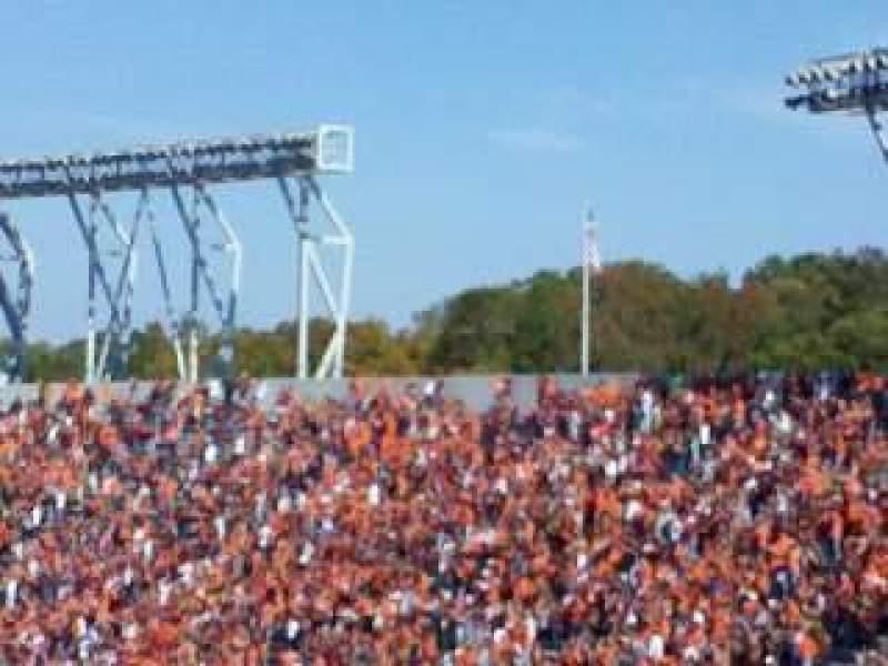 Vista sentada para Lane Stadium Secção 503 Fila DD Lugar 23
