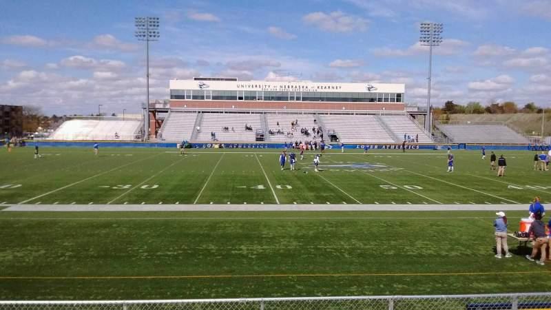 Vista sentada para Cope Stadium Secção GA Visitors