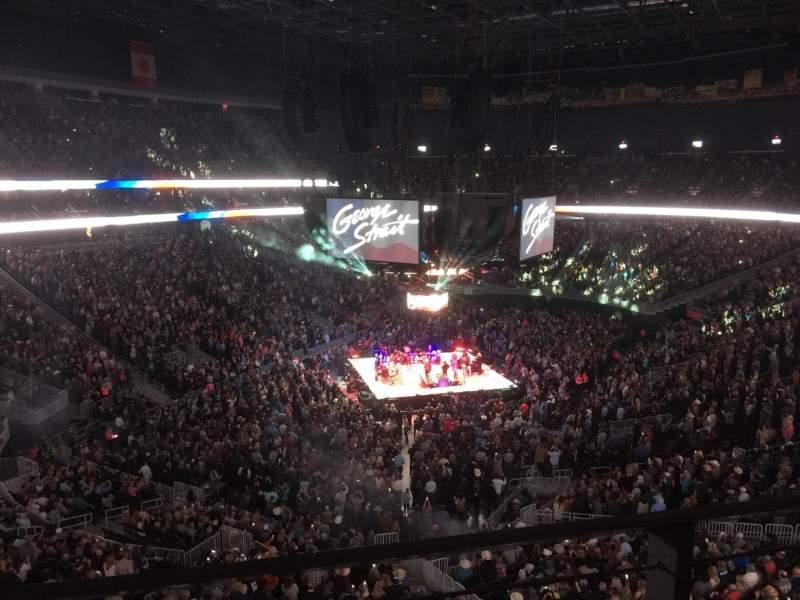 Vista sentada para T-Mobile Arena Secção 217 Fila A Lugar 9