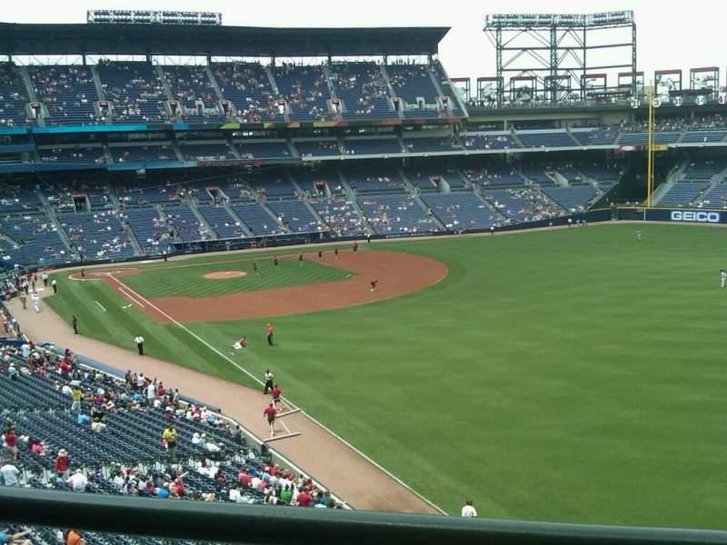Vista sentada para Turner Field