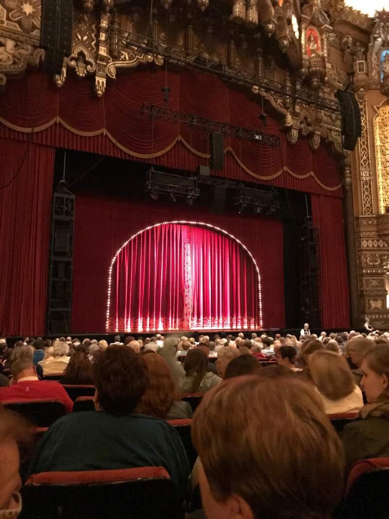 Vista sentada para The Fabulous Fox Theatre (St. Louis) Secção Orchestra 2 Fila R Lugar 15