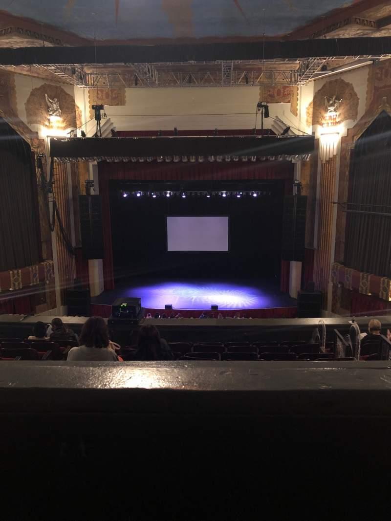 Vista sentada para Paramount Theatre (Denver) Secção BALC C Fila H Lugar 11