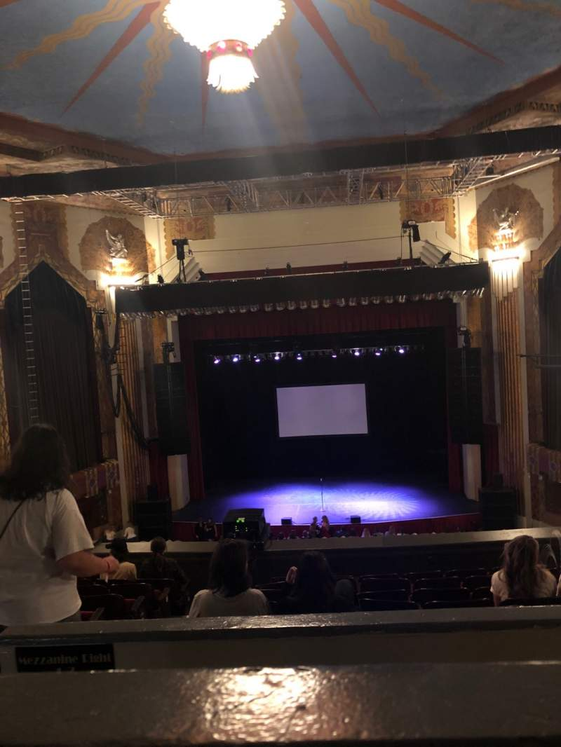 Vista sentada para Paramount Theatre (Denver) Secção Balcony C Fila H Lugar 10