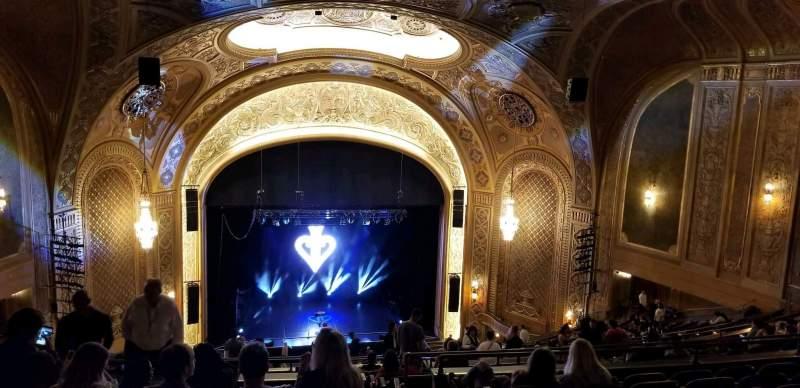 Vista sentada para Paramount Theatre (Seattle) Secção Mezzanine 34 Fila z Lugar 2