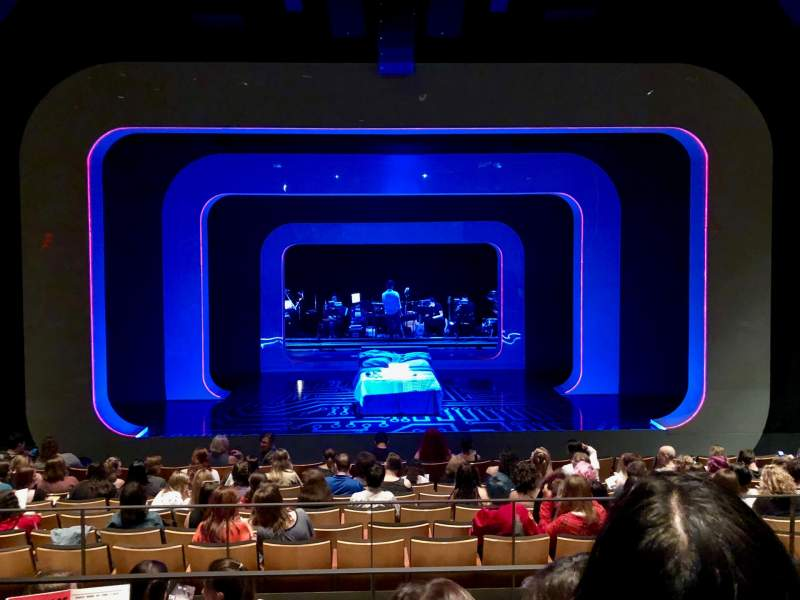 Vista sentada para The Irene Diamond Stage at The Pershing Square Signature Center