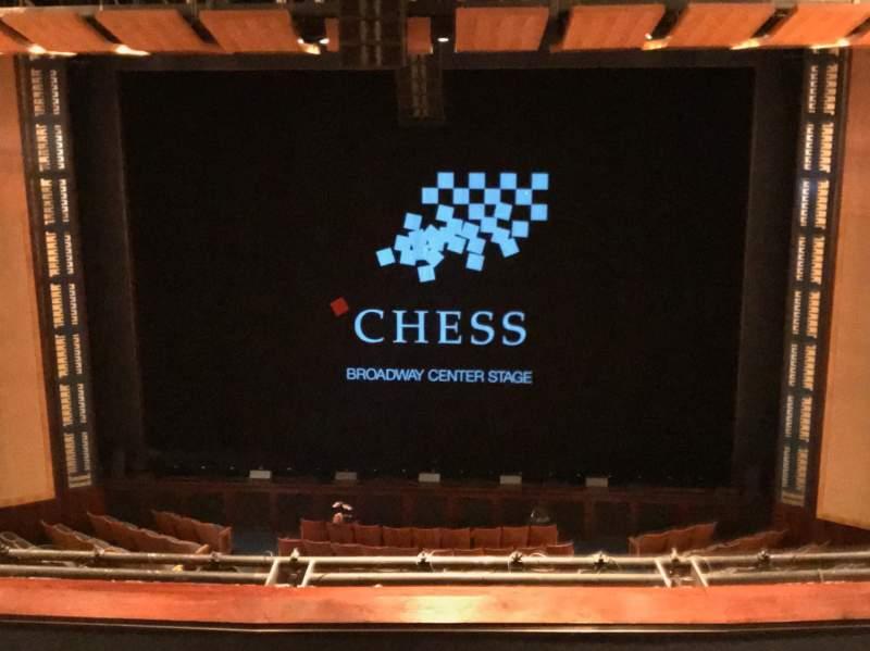 Vista sentada para The Kennedy Center Eisenhower Theater Secção Balcony Fila E Lugar 104