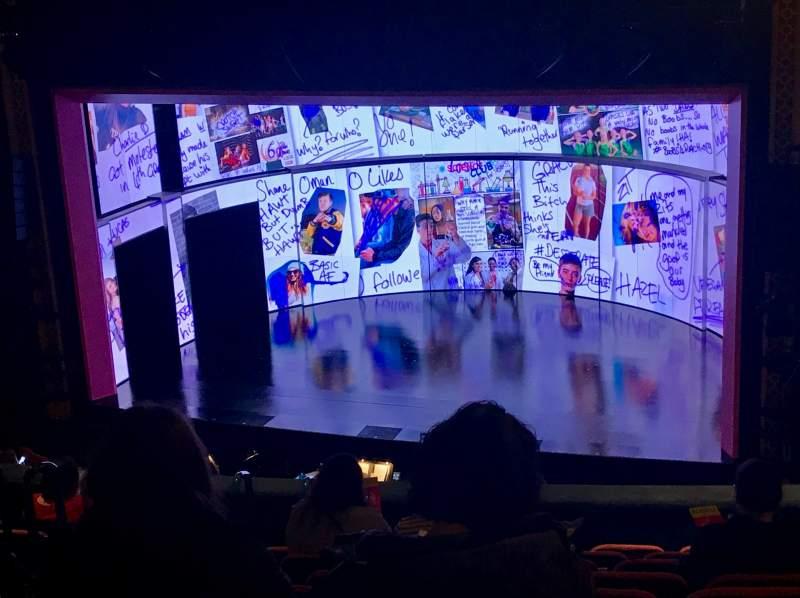 Vista sentada para National Theatre (DC) Secção Mezzanine Right Fila K Lugar 14