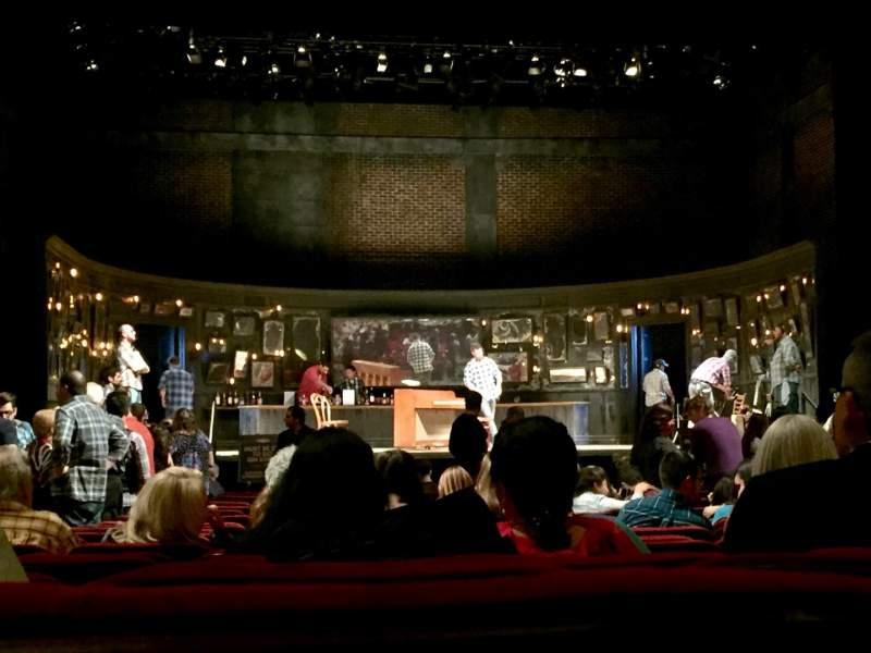 Vista sentada para Hollywood Pantages Theatre