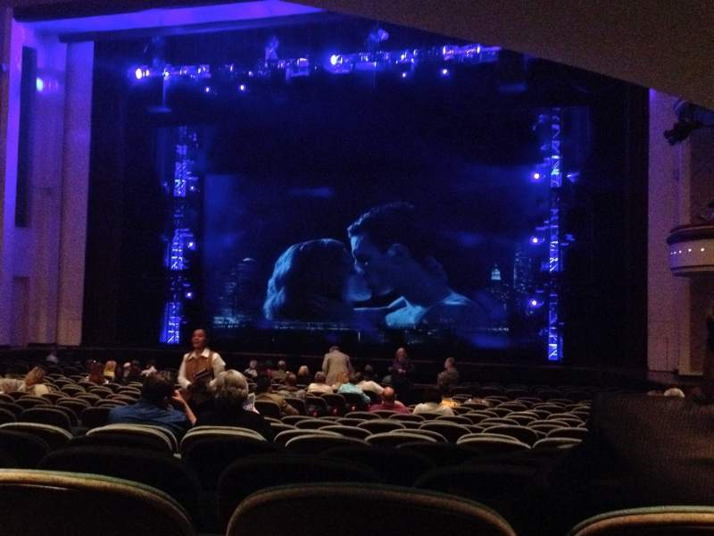 Vista sentada para Belk Theater