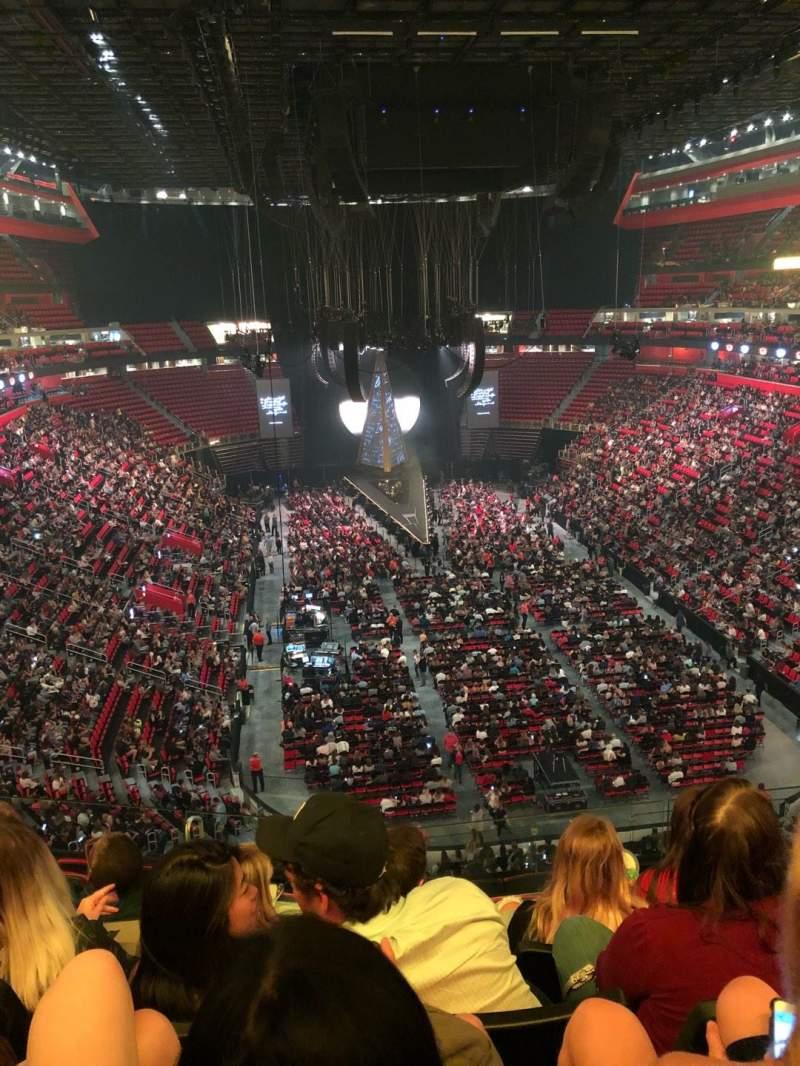 Vista sentada para Little Caesars Arena Secção M20 Fila 4 Lugar 11