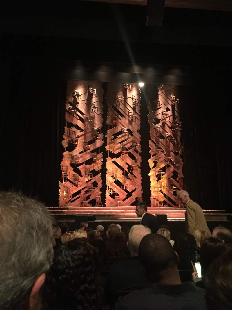 Vista sentada para Orpheum Theatre (San Francisco) Secção Orchestra LC Fila H Lugar 105