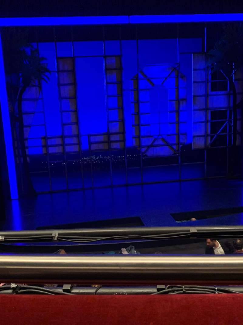 Vista sentada para Piccadilly Theatre Secção Royal Circle Fila A Lugar 17