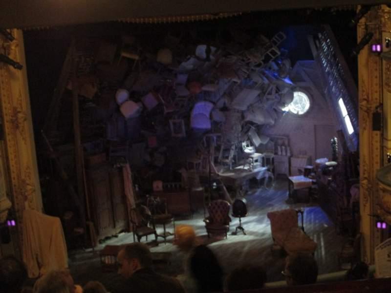 Vista sentada para Wyndham's Theatre Secção Royal Circle Fila G Lugar 13