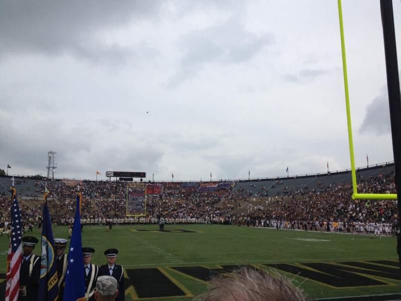 Vista sentada para Ross-Ade Stadium Secção 31 Fila 2 Lugar 22