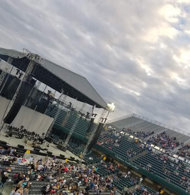 Vista sentada para Volvo Car Stadium  Secção 201 Fila H Lugar 9