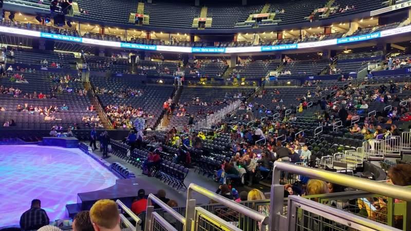 Vista sentada para Nationwide Arena Secção 113 Fila H Lugar 14