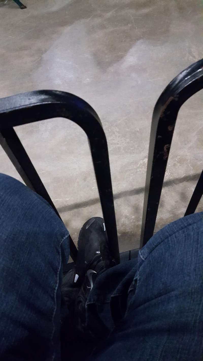 Vista sentada para Nutter Center Secção 205 Fila 1 Lugar 9