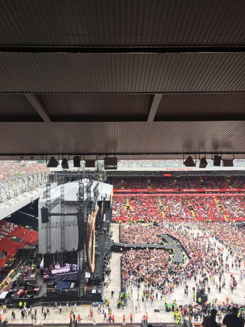 Vista sentada para Anfield Secção U3 Fila 75 Lugar 81