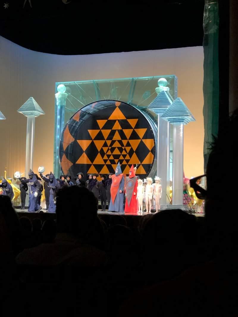 Vista sentada para Metropolitan Opera House - Lincoln Center Secção Orchestra Fila N Lugar 16