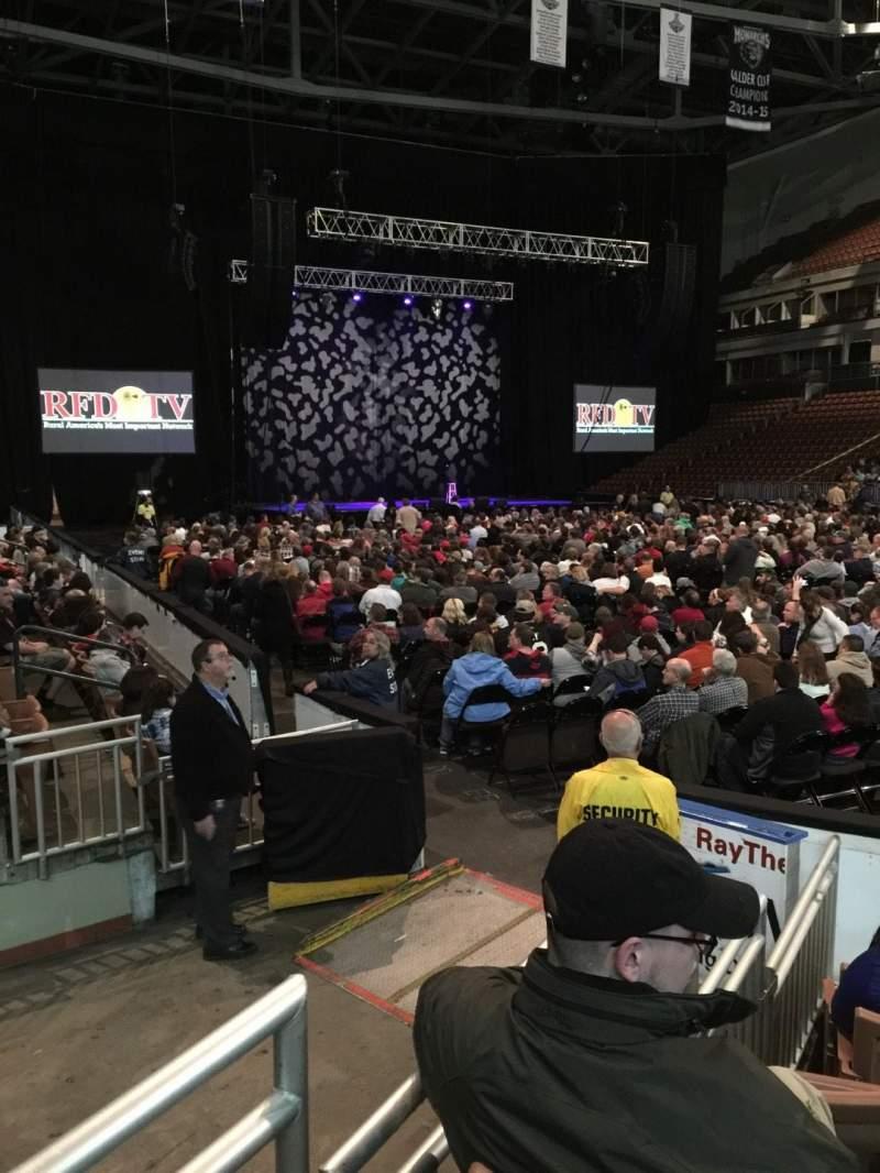 Vista sentada para SNHU Arena Secção 104 Fila F Lugar 2
