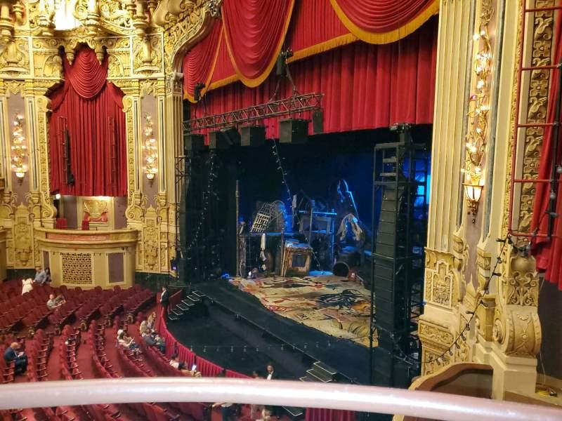 Vista sentada para James M. Nederlander Theatre Secção Loge - Box 2 Fila A Lugar 374