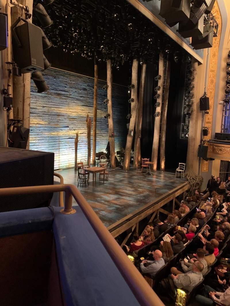 Vista sentada para Gerald Schoenfeld Theatre Secção Box E Lugar 1