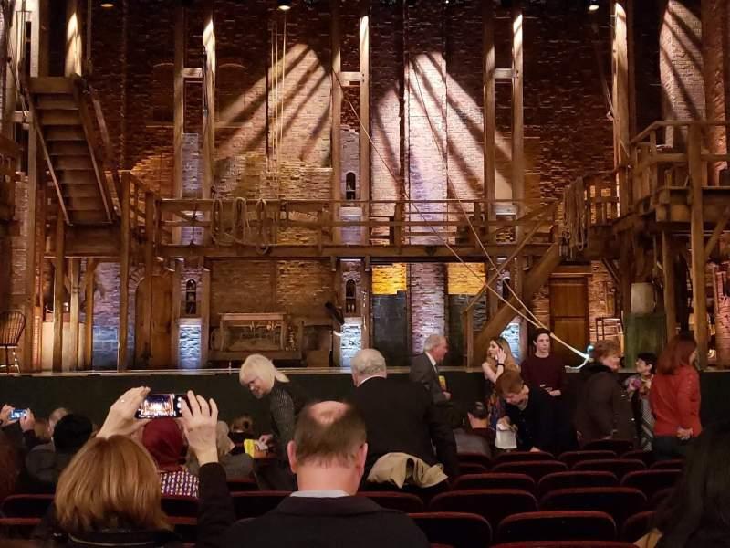 Vista sentada para CIBC Theatre Secção Orchestra C Fila M Lugar 107
