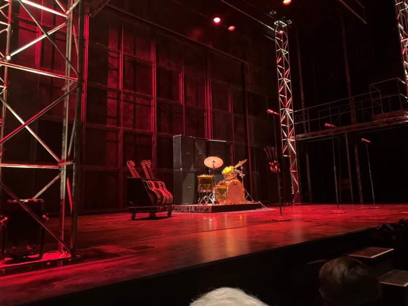 Vista sentada para The Old Globe Secção Orchestra L Fila A Lugar 13