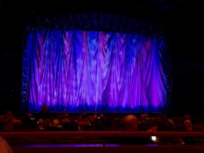 Vista sentada para The Kennedy Center Opera House Secção ORCH Fila S Lugar 123