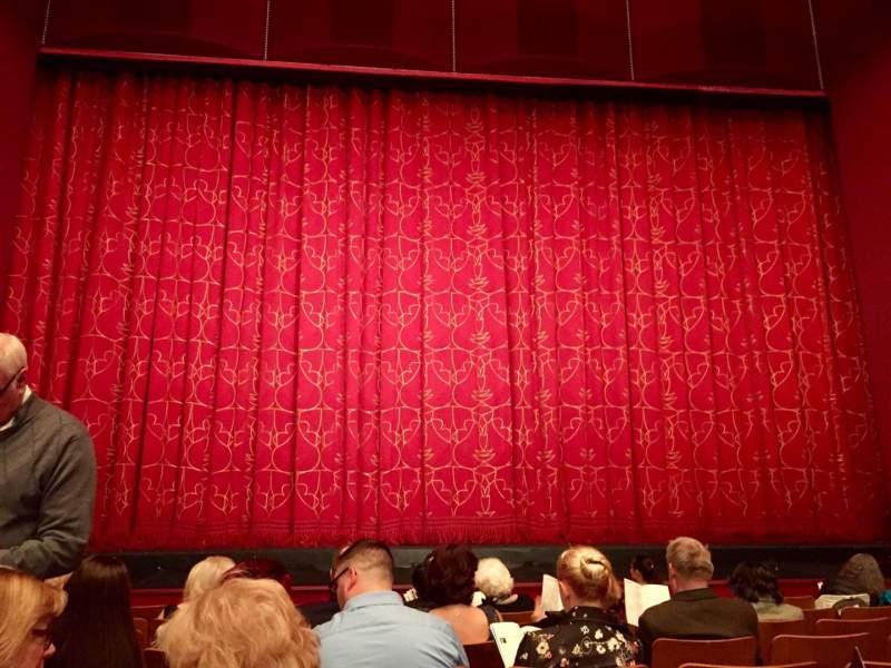 Vista sentada para The Kennedy Center Opera House Secção ORCH Fila O Lugar 116