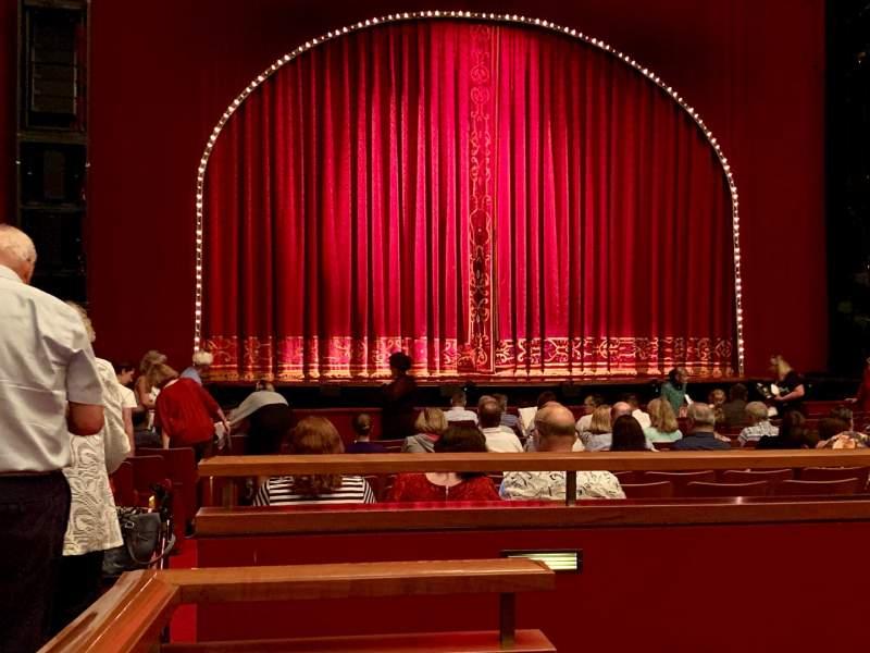 Vista sentada para The Kennedy Center Opera House Secção ORCH Fila S Lugar 128