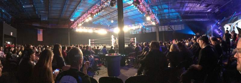 Vista sentada para 2300 Arena Secção Northwest Fila 2 Lugar 6