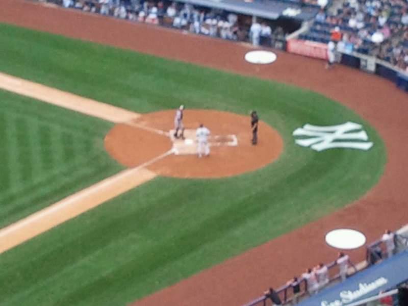 Vista sentada para Yankee Stadium Secção 428 Fila 12 Lugar 6