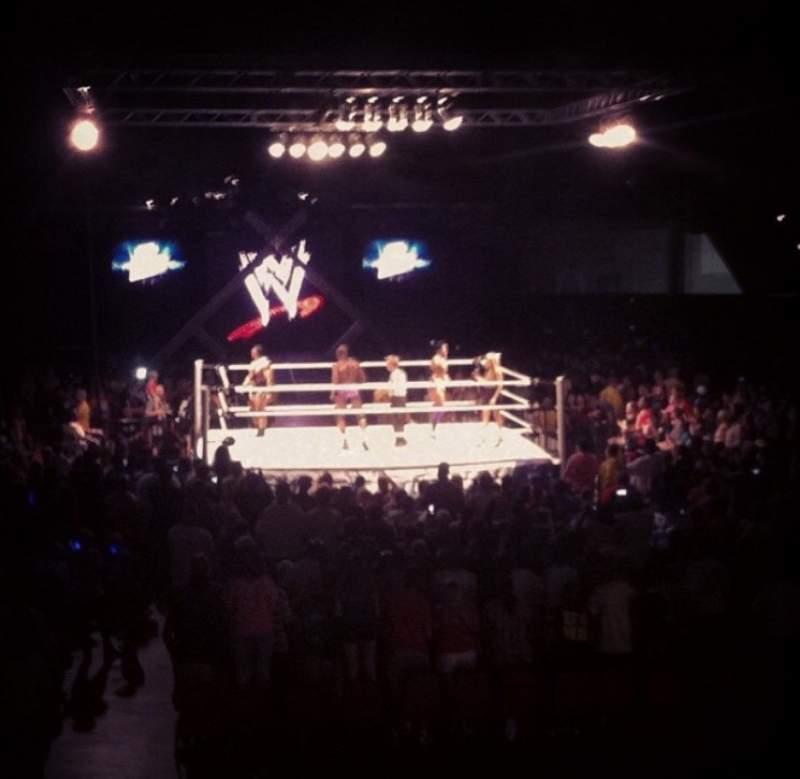 Vista sentada para Macon Coliseum Secção 115 Fila D Lugar 14