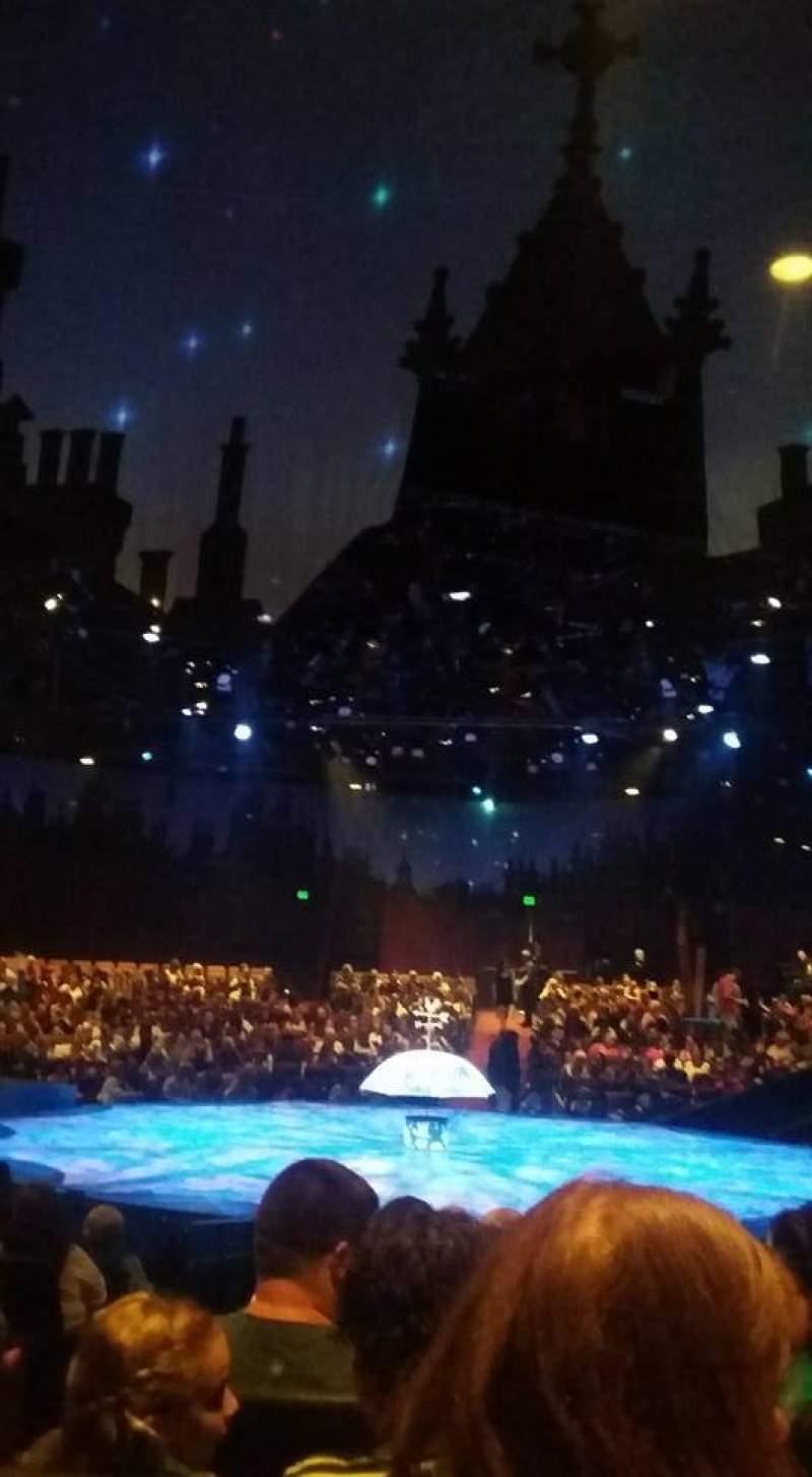 Vista sentada para North Shore Music Theatre Secção F Fila K Lugar 34