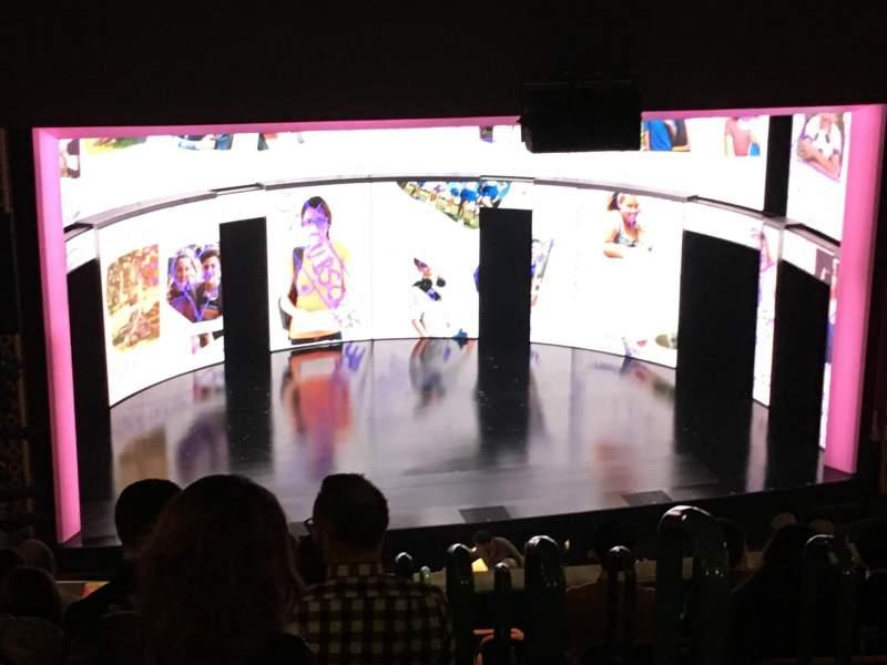 Vista sentada para National Theatre (DC) Secção Mezz Left Fila M Lugar 3