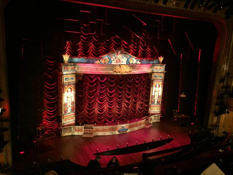 Vista sentada para Walter Kerr Theatre Secção Mezz Right Fila D Lugar 7