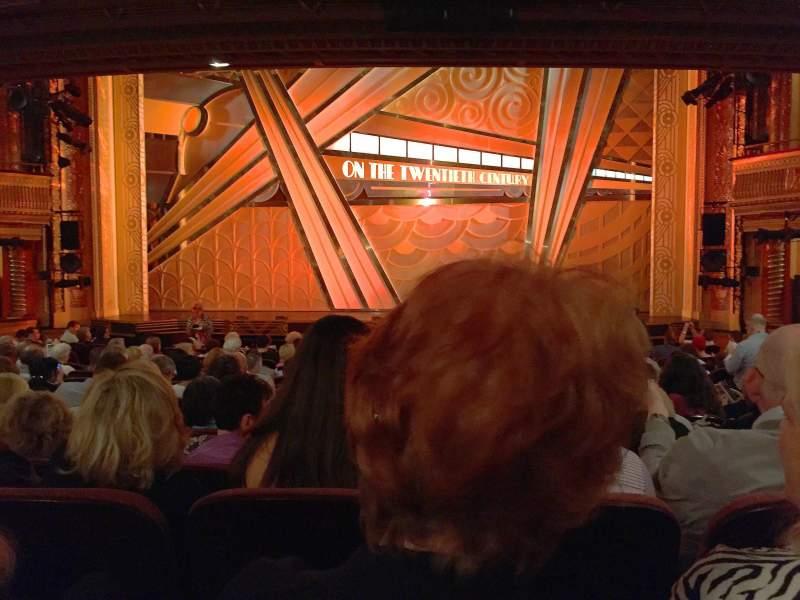 Vista sentada para American Airlines Theatre Secção Orch Fila O Lugar 103