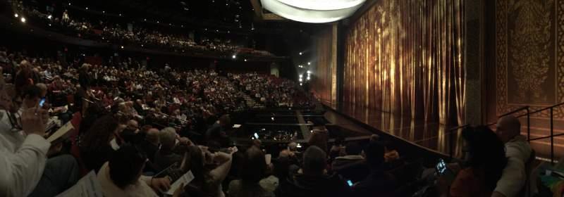 Vista sentada para Vivian Beaumont Theater Secção Orcho Fila H Lugar 509