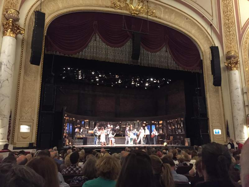 Vista sentada para Proctor's Theatre Secção Orchestra CL Fila G Lugar 9