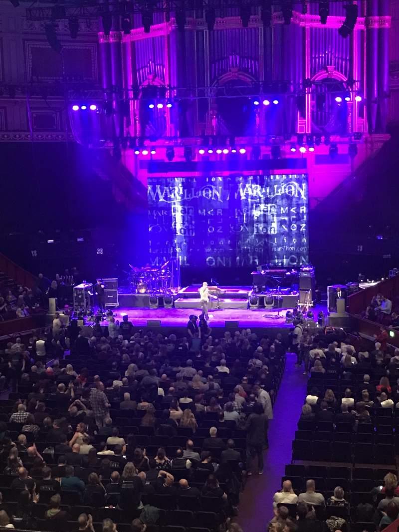 Vista sentada para Royal Albert Hall Secção Grand Tier 25 Lugar 2