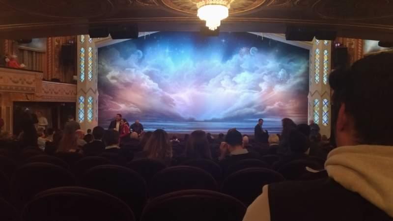 Vista sentada para Eugene O'Neill Theatre Secção Orchestra C Fila S Lugar 107